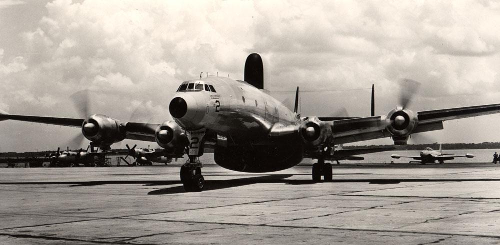 WV-3 Hurricane Hunter- 1950s