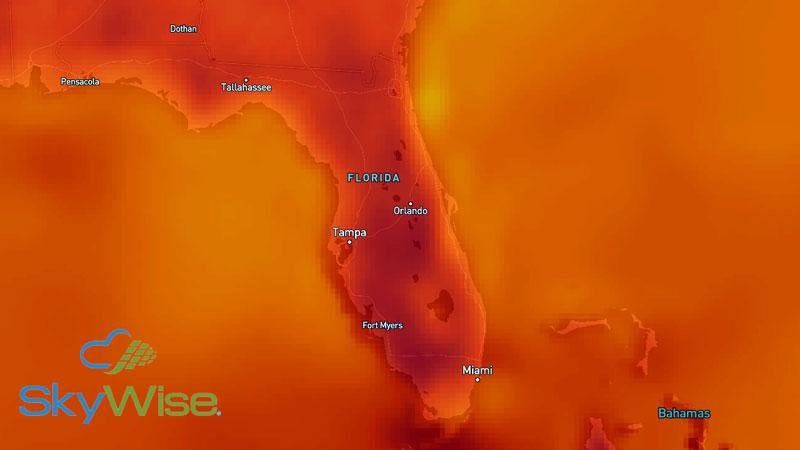 SkyWise Temperature Plot