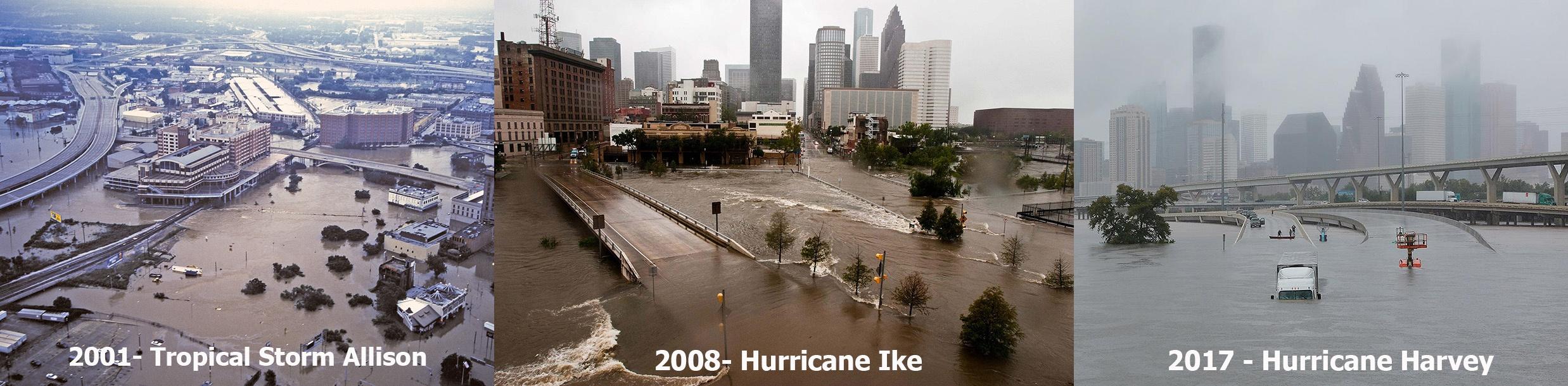 Houston Flooding - 21st Century