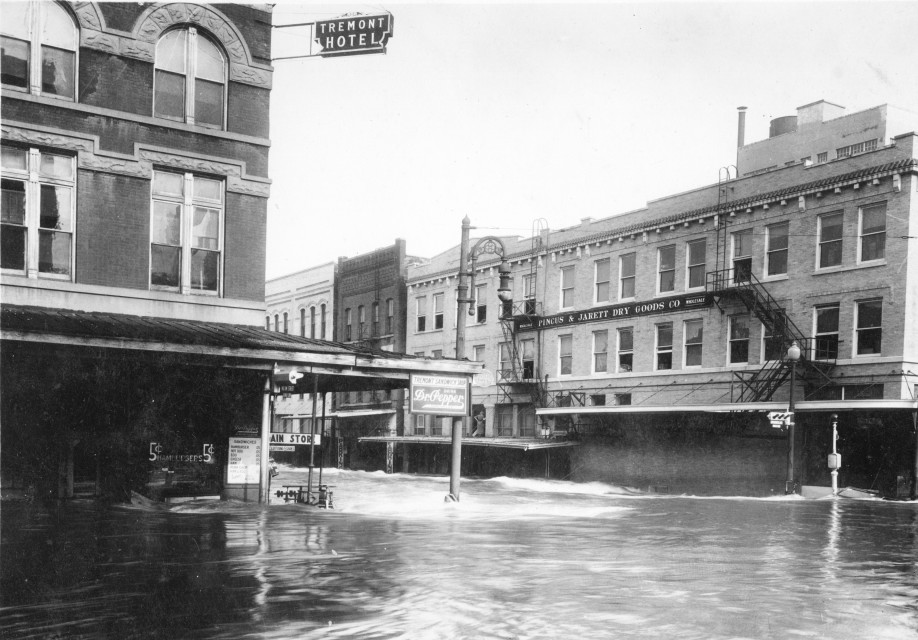 Houston flood- 1935