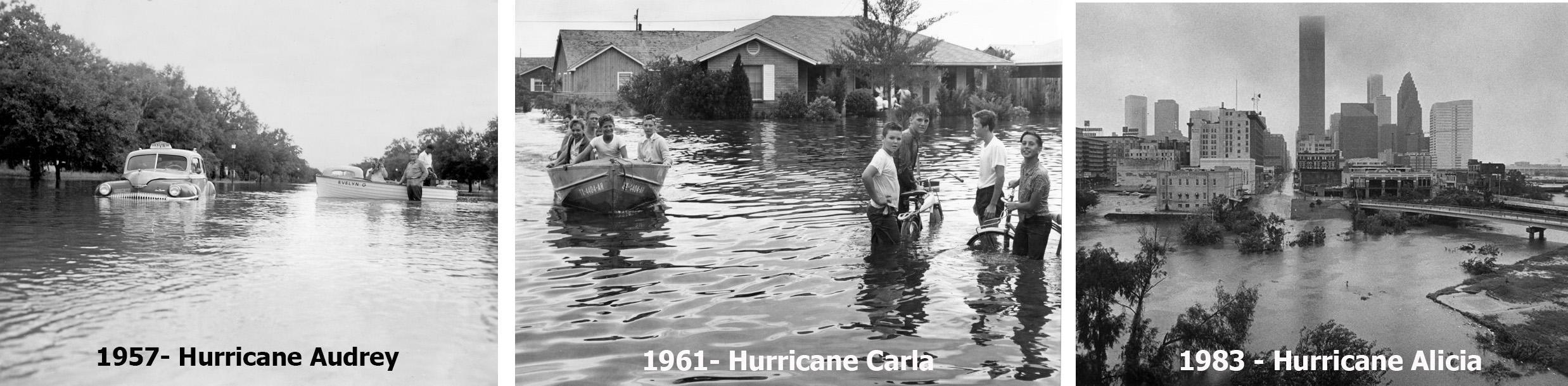 Houston Hurricanes in 20th Century