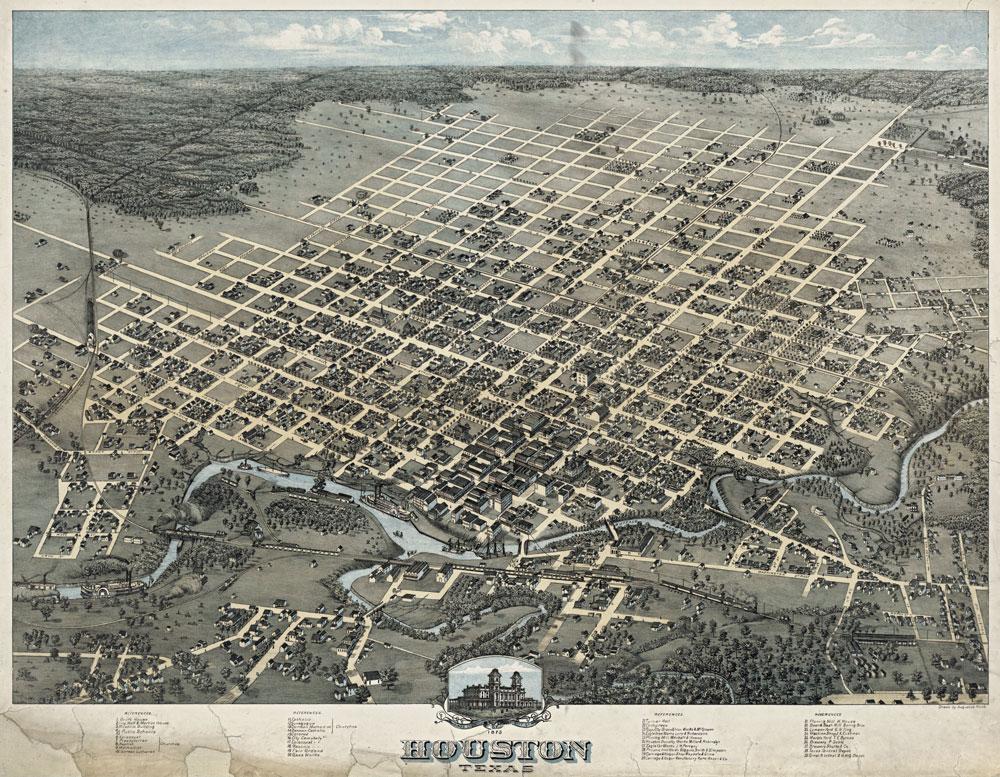 Houston in 1873