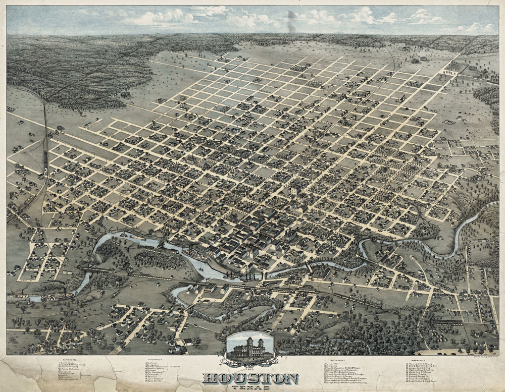 Houston in 1873
