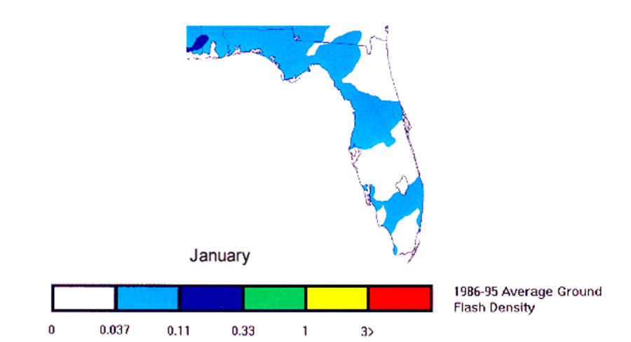 Florida Lightning in January
