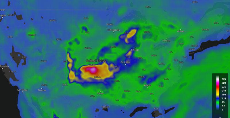 WeatherOps Severe Parameter