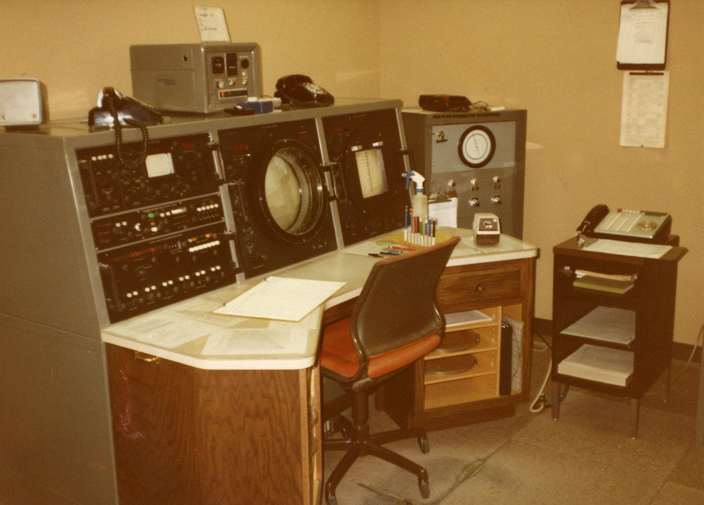 WSR-74C Console
