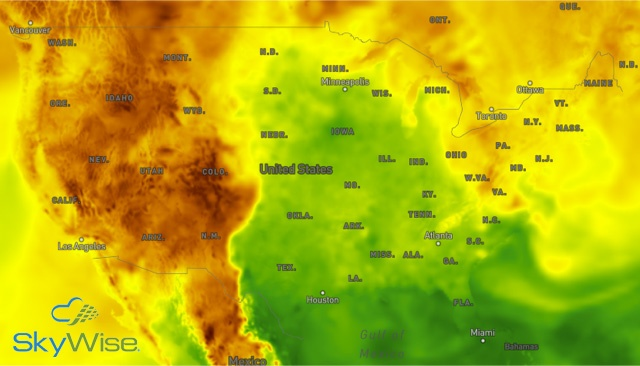 SkyWise DewPoint Data