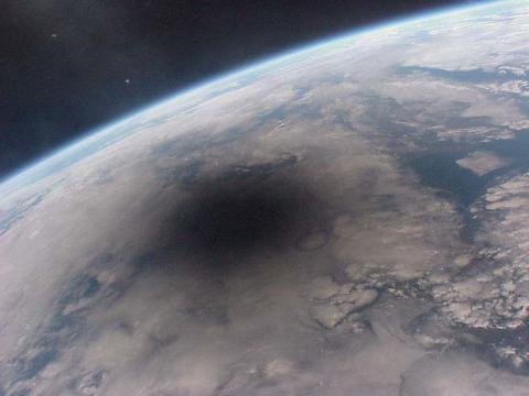 Solar Eclipse's Shadow