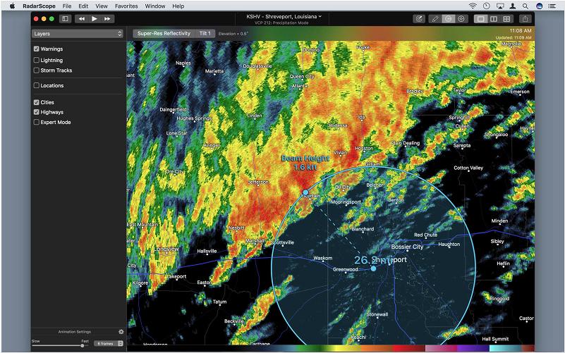 RadarScope Image