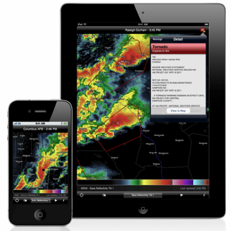 RadarScope Debuts on iPad