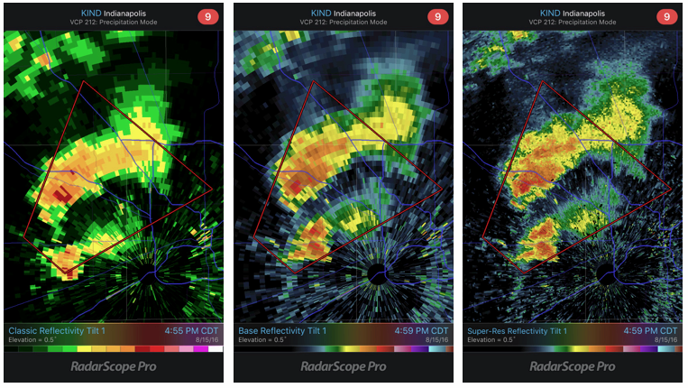 RadarScope 1.0 Improvements