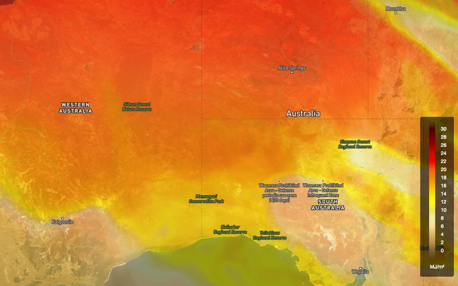 Australian Solar Radiation Analysis