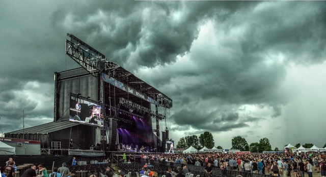 Weather Threatens Concert