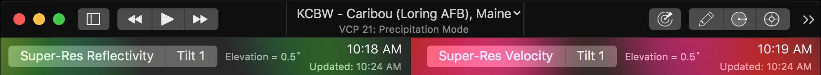 Mac Toolbar