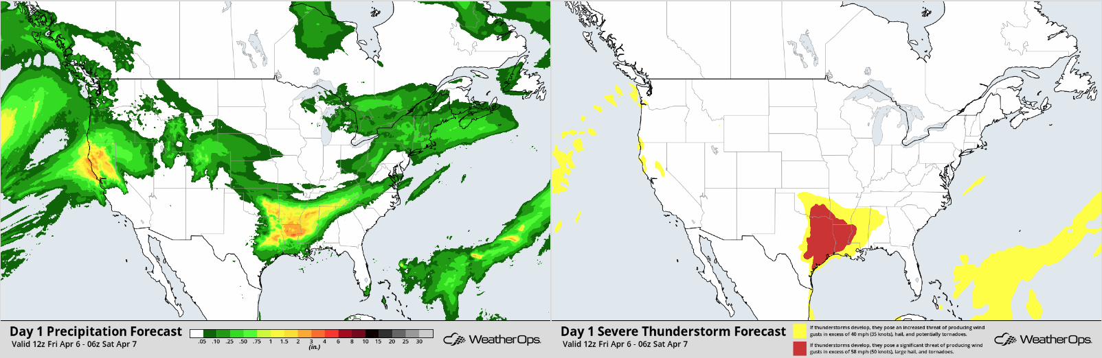 WeatherOps Thunderstorm and Rainfall Planner