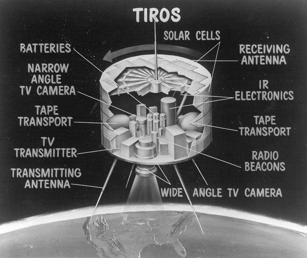 TIROS-1 Satellite