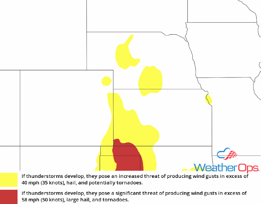 Thunderstorm Risk for Wednesday, May 16, 2018