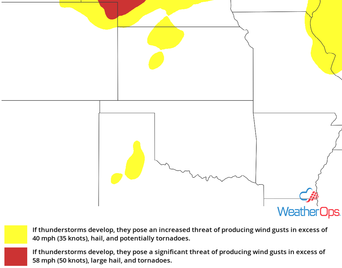 Thunderstorm Risk for Friday, June 29, 2018